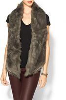sabine shearling vest
