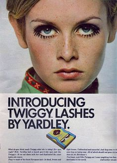 Twiggy for Yardley