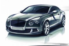 .Wow, amazing Bentley sketch