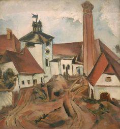 Trampota Jan (1889 – 1942) | Sophistica Gallery Cubism, Jaba, Art Auction, Scene, Gallery, Artist, Pictures, Painting, Distillery