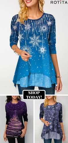 Shop womens tops Tops online,Tops with cheap wholesale price,shipping to worldwide Beautiful Outfits, Cute Outfits, Stylish Tops For Women, Trendy Fashion, Womens Fashion, Blouse And Skirt, Chic Dress, Holiday Outfits, What To Wear