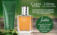 Justine Carpe Diem EDT Carpe Diem, Body Wash, Avon, How To Become, Personal Care, Cologne, Beauty, Hair, Whoville Hair
