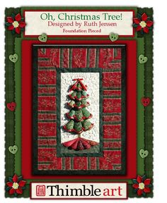Oh, Christmas Tree!  $8.00 pattern available at www.thimble-art.com