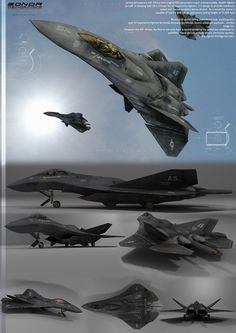 Sonda Aerospace's ASF-19 is a twin-engine fifth generation super-manoeuvrable, stealth fighter aircraft. In keeping with SA's concept for air superiority fighters, it is design to provide maximum s...