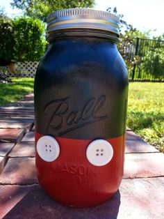 DIY Mickey Mouse Disney Fund Jar