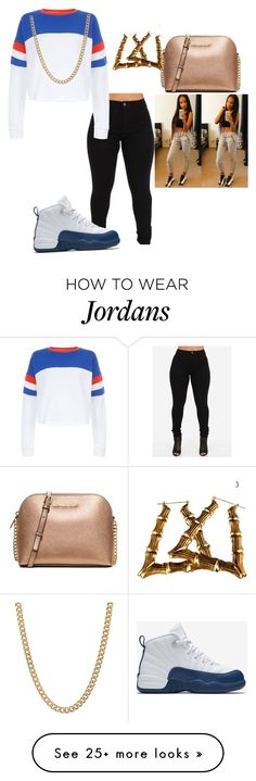 """5/28/16 school "" by nia-slay on Polyvore featuring New Look, NIKE, MICHAEL Michael Kors and ASOS"