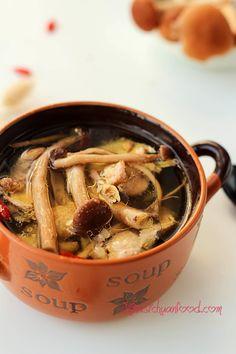 #Chicken #Mushroom #Soup | Chinese recipes and eating culture