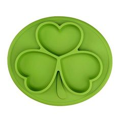 Oferta: 14.99€ Dto: -67%. Comprar Ofertas de Platos para Bebé TOPQSC Platos de Bebé de la Forma de Trébol , Antibacterianos Platos para Bebé (verde) barato. ¡Mira las ofertas!