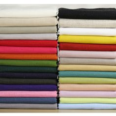 >> Click to Buy << BIDORA 32colors Plain solid linen bamboo section cotton fabric clothing linen fabric home decorative background cloth 1 yards  #Affiliate