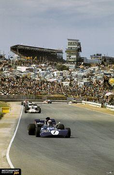 Formel 1 1972, Südafrika GP, Kyalami, Jackie Stewart, Tyrrell, Bild: Sutton