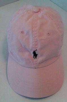 624c5960ee5 Polo by Ralph Lauren Women s Baseball Cap Adjustable Leather