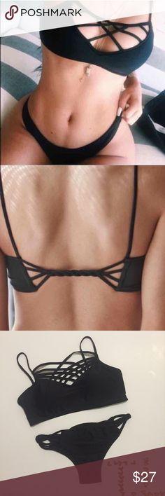 603b1466533 Kylie sexy Strappy caged bikini no trades ✈ SHIPS TOMORROW Brand new! ❓ ask  · Bikinis For Big BustsCute ...