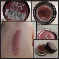 Swatch Color Tattoo Maybelline New York 70 - Metallic Pomegranate