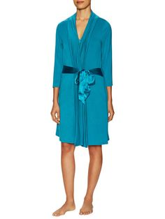 Take Me Away 3/4 Sleeve Robe by Fleur't Intimates at Gilt