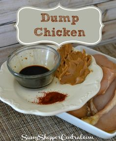Dump Chicken is so easy to make & freeze!