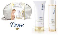 ¡Chollo! Pack Neceser DOVE DermaSpa Goodness3 con loción y aceite corporal por 6.66 euros.