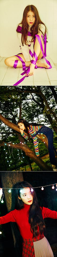 "IU's 4th Mini Album ""CHAT-SHIRE"""