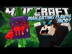 Minecraft | MAN EATING PLANTS MOD! (Mowzies Mobs) | Mod Showcase - YouTube