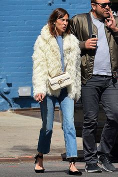 Alexa Chung out and about in New York | May 4, 2017