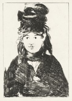Édouard Manet (French, Paris 1832–1883 Paris), Berthe Morisot, 1872