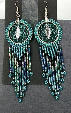 the beaded dream catcher - Buscar con Google