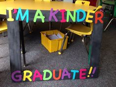 Photo booth frame for kindergarden graduation