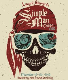 Please join us for the final chapter of The Simple Man Cruise! The final voyage sets sail  November 16-20, 2014 to Key West & Great Stirrup Cay! #smc #simplemancruise #lynyrdskynyrd #sxmliveloud #sixthman #cruise #themedcruise #vacation