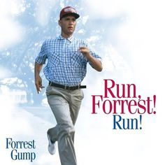 Forrest Gump, Running, Movies, Movie Posters, Racing, Films, Film Poster, Keep Running, Popcorn Posters