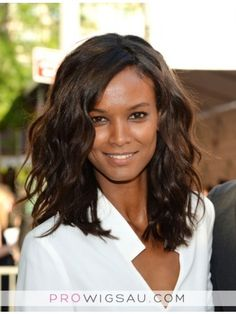 Liya Kebede Medium Wavy Cut Wig, Cheap Wigs Sale Online