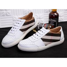 Burberry Leather shoes for men, 1 : 1 quality trainers & sneakers, inner hogskin #BURSHO-239