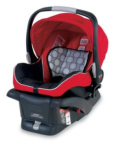 Britax B-Safe Infant Car Seat, Red - Amazon $169.99