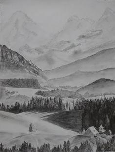 Landscape - Pencil