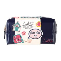 Zoella Beauty Sticker Me! Beauty Bag