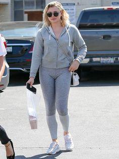 Chloe Moretz lució hermosa en look deportivo
