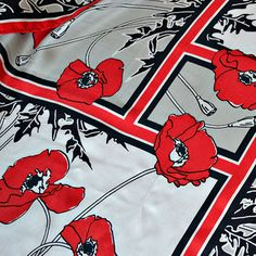 Image result for poppy scarf at canadian war museum