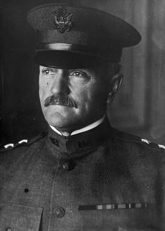 Major General Pershing of the National Army