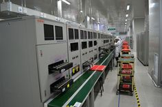 Sneak preview of Gionee motherboard testing line from #GioneeFacilityVisit