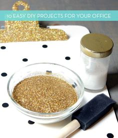 Roundup: 10 Quick DIY Projects To Beautify Your Office » Curbly   DIY Design Community