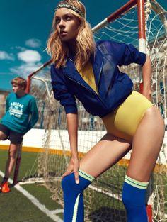 """""""Football Star"""" Lys Inger for Stolnick June 2014"""