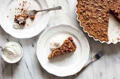 Butternut Squash Pie Recipe with Pecan Streusel and Speculoos Cookie Crust