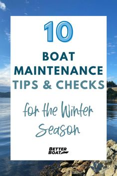 Boat maintenance doesn't have to be stressful and complicated. With the right boat tips and tricks you can DIY your boat maintenance with ease. Read more for the 10 best boat maintenance tips and checks for the winter season and prepare your pontoon boat for the season now! #boatlife #onthewater #boathacks #boattips