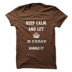 Keep Calm And Let MADDOX Handle It.Hot Tshirt! - #vintage t shirts #army t shirts. MORE ITEMS => https://www.sunfrog.com/No-Category/Keep-Calm-And-Let-MADDOX-Handle-ItHot-Tshirt.html?id=60505