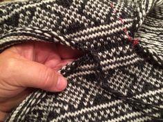 Slik kan du lage pen hals — Hjertebank Darning, Fingerless Gloves, Arm Warmers, Ravelry, Knitting, Tips, Blog, Tutorials, Sweaters