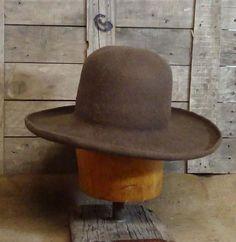 e76c87e1 Old West, Historic Ranchero, custom fit, beaver felt, Cowboy Hat