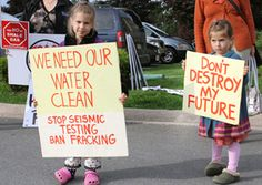 "Fracking Exposes Children to Industrial Toxins:  When it comes to exposure to hazardous chemicals, children are not just little adults. ""Children are more vulnerable to environmental hazards,"" states the Pediatric Environmental Health Specialty Unit, a subcommittee of the American Pediatric Society. ""They eat, drink and breathe more than adults on a pound for pound basis."" This means children are proportionally more exposed to toxins in air, water and food."
