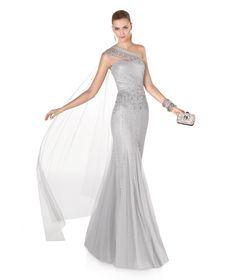 Kokteyl elbisesi. ADELIA modeli. 2015 Elbise Koleksiyonu. Pronovias 2015.