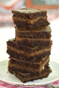 Honey Heart Chocolate Cake - OMG Chocolate Desserts