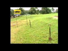 Construcción de estanques en piscicultura - YouTube