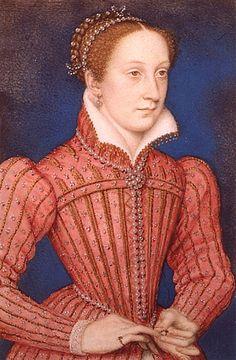"""""""Marie Stuart, queen of Scotland"""" by François Clouet, 1558"""