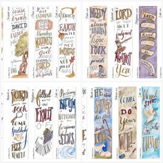 Advent Collection Bible Bookmark / Bible Journal Tag INSTANT